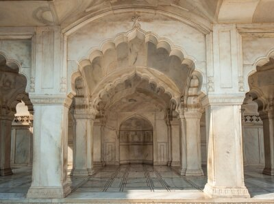 Fototapet Nagina moskén i Agra Fort, Uttar Pradesh, Indien