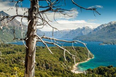 Fototapet Nahuel Huapi sjön, Argentina