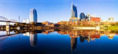 Fototapet Nashvillle Skyline, Tennessee, USA