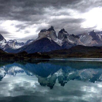 Fototapet National Park Chile