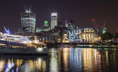 Fototapet natt London