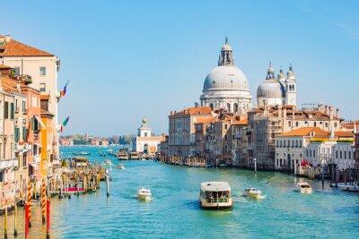 Fototapet Natthimlen i Venedig, Italien