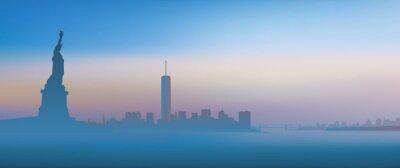Fototapet New York - Aube