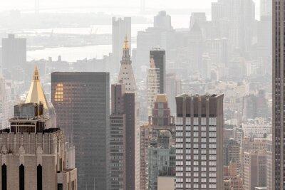 Fototapet New York Byggnader