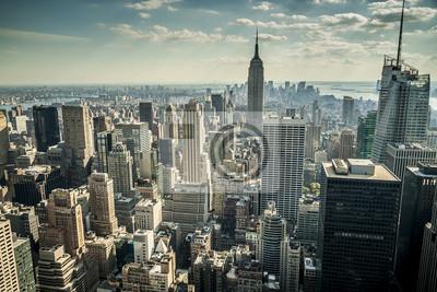 Fototapet New York City i USA