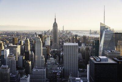 Fototapet New York horisont