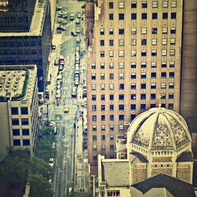 Fototapet New York Streets