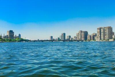 Fototapet Nilen i Kairo