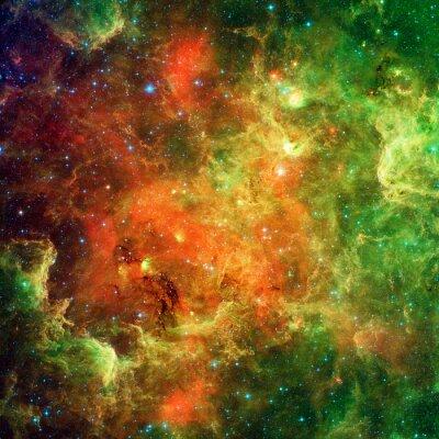 Fototapet Nordamerikanska Nebula och Pelican nebulosa