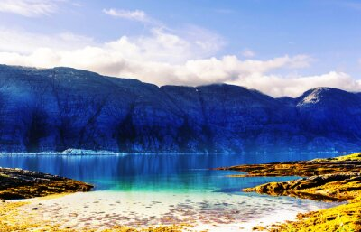 Fototapet Norge landskap