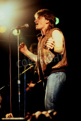 Fototapet Norwich, England, 1 oktober 1981 - U2 konsert på UEA