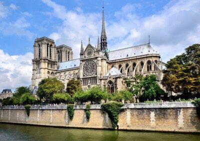 Fototapet Notre-Dame, Paris