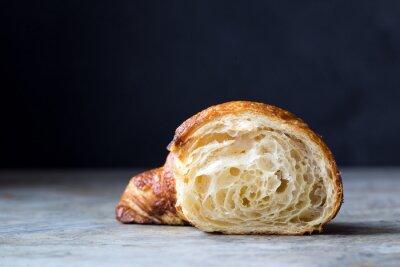 Fototapet Nybakade croissanter