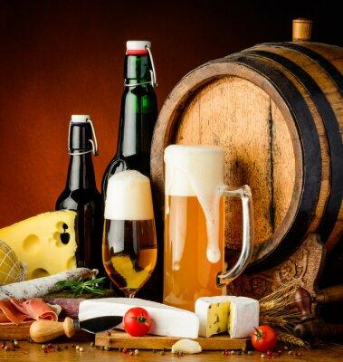 Fototapet öl drycker