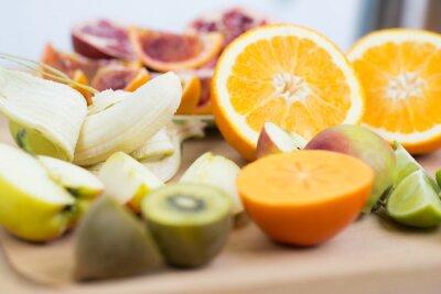 Fototapet olika frukter