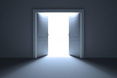 Fototapet Öppna dörrar