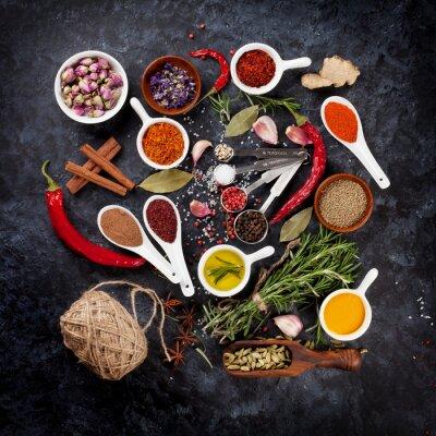 Fototapet Örter och kryddor