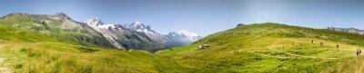 Fototapet Panorama Mont Blac