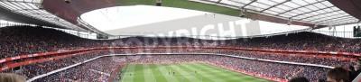 Fototapet Panoramautsikt över Arsenal V Chelsea 0-0 fotboll / fotbollsmatch spelas den 21 april 2012, Emirates Stadium, London, England