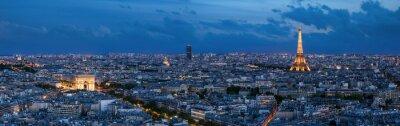 Fototapet Paris à l'heure bleue