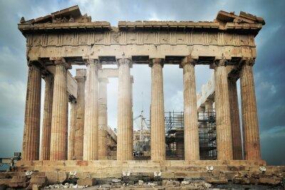 Fototapet Parthenon, Akropolis i Aten