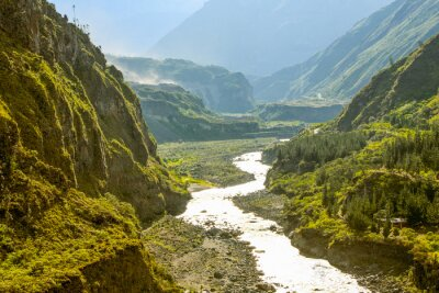 Fototapet Pastaza flod i Ecuador
