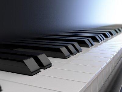 Fototapet piano