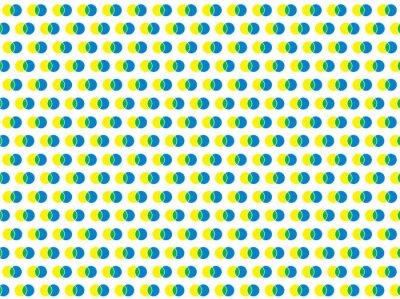 Fototapet polka dot vit sömlösa vektor mönster