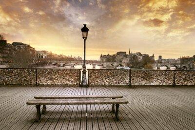 Fototapet Pont des Arts Paris