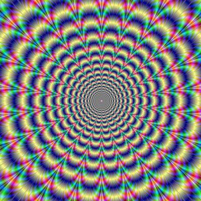 Fototapet psychedelic Pulse