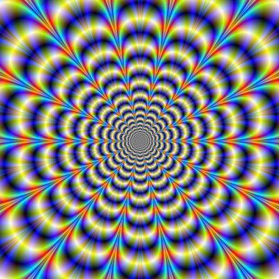 Fototapet Psychedelic Vispa Revisited