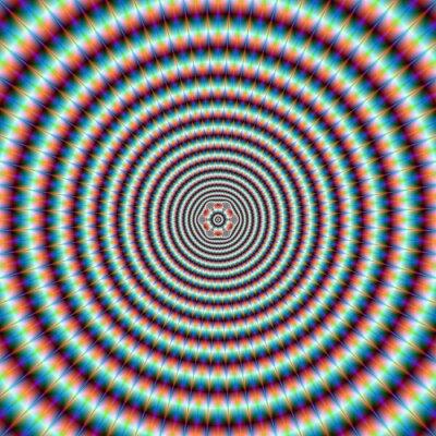 Fototapet pulsnings Rings
