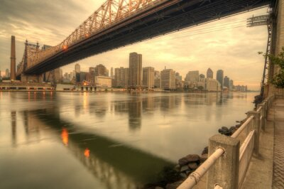 Fototapet Queensboro Bridge