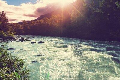 Fototapet River i Norge