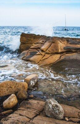Fototapet Rocas en la costa