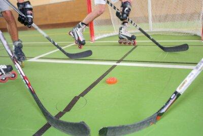 Fototapet Roller Hockey