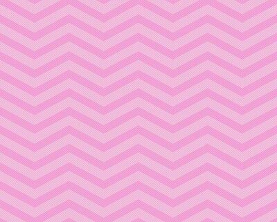Fototapet Rosa Chevron sicksack texturerat tyg mönster bakgrund