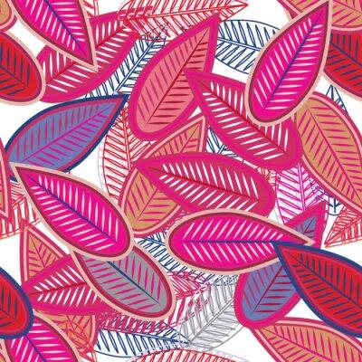 Fototapet rosa leafs