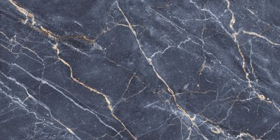 Fototapet Rough Stucco Wall Marble Background, Blue Cement Marble, Rustic Texture Background, It Can Be Used For Interior-Exterior Home Decoration And Ceramic Tile Surface.