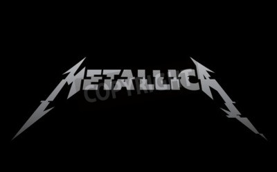 Fototapet RUSLAND - FEBRUARI 09, 2017: Metallica ny logotyp