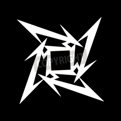 Fototapet RUSLAND - FEBRUARI 09, 2017: Metallica symbol