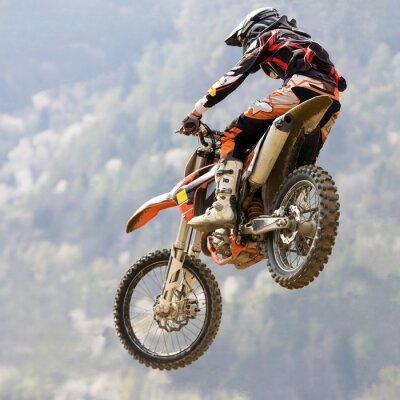 Fototapet salto con moto da tvär
