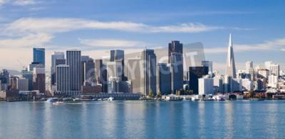Fototapet San Francisco City Downtown, Kalifornien