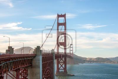 Fototapet San Francisco landmärke - Golden Gate Bridge