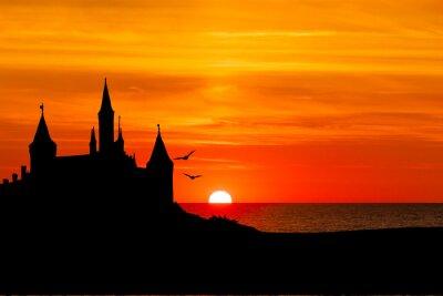 Fototapet Schloss am Meer