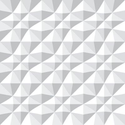 Fototapet Seamless 3d mönster.