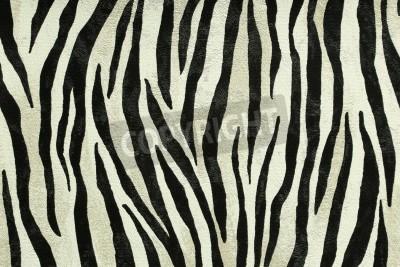 Fototapet Seamless färgrika strukturer av tiger