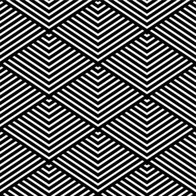 Fototapet Seamless geometrisk struktur.