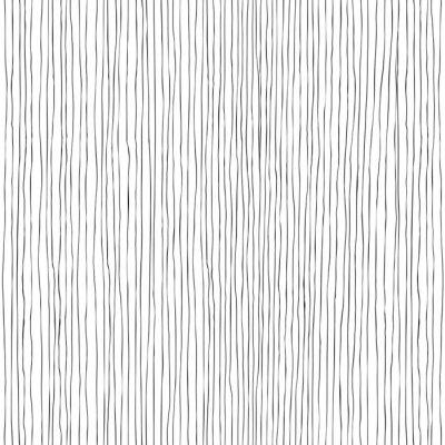 Fototapet Seamless vertikala linjer handritade mönster