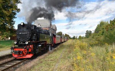 Fototapet Selketalbahn